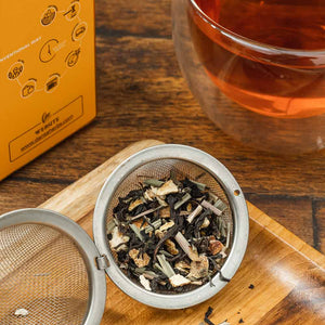 Orange Lemongrass Black Tea - 100 G Loose Tea