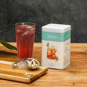Apple Cinnamon Iced Tea - 100 G Tin Caddy