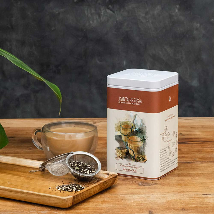 Cardamom Ginger Masala Chai - Tin Caddy