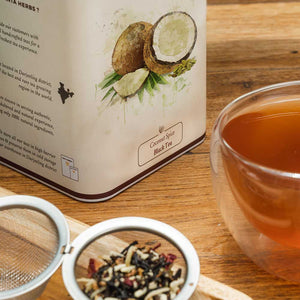 Coconut Spiced Black Tea - 100 G Tin Caddy