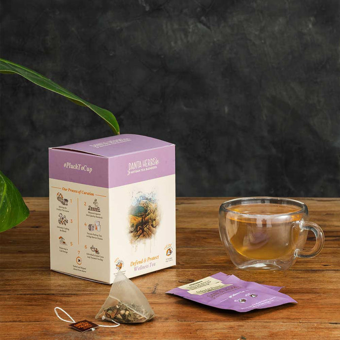 Defend & Protect Wellness Tea - Pyramid Teabag