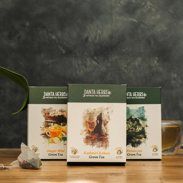 Detox Green Teabag Variety Pack