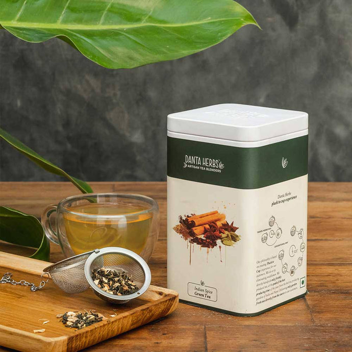 Indian Spice Green Tea - Tin Caddy