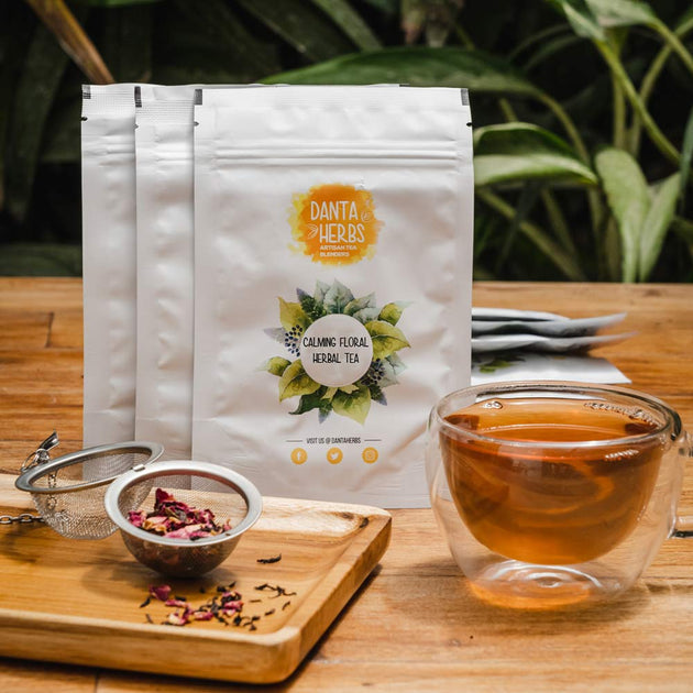Floral Tea Sampler kit