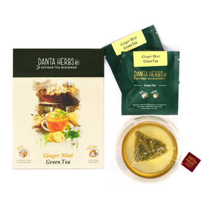 Ginger Mint Green Tea - Danta Herbs, Green Tea - tea