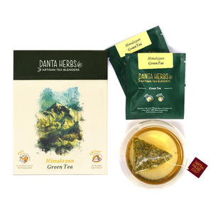 Pure Darjeeling Green Tea - Danta Herbs, Green Tea - tea