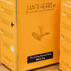 Buy Indian Silk Route Black Tea Variety Pack - Danta Herbs Tea