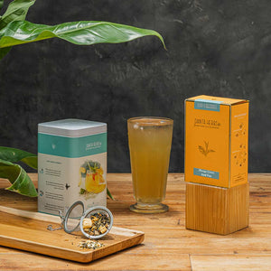 Mango Green Iced Tea - Danta Herbs, Iced Tea
