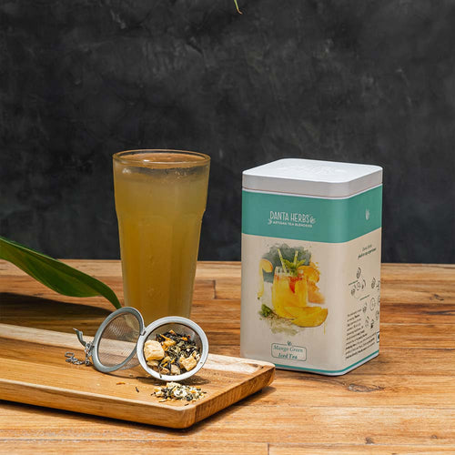 Mango Green Iced Tea - Tin Caddy