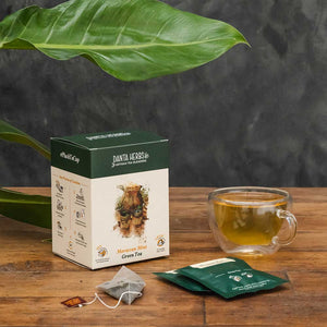 Moroccan Mint Green Tea - Pyramid Teabag