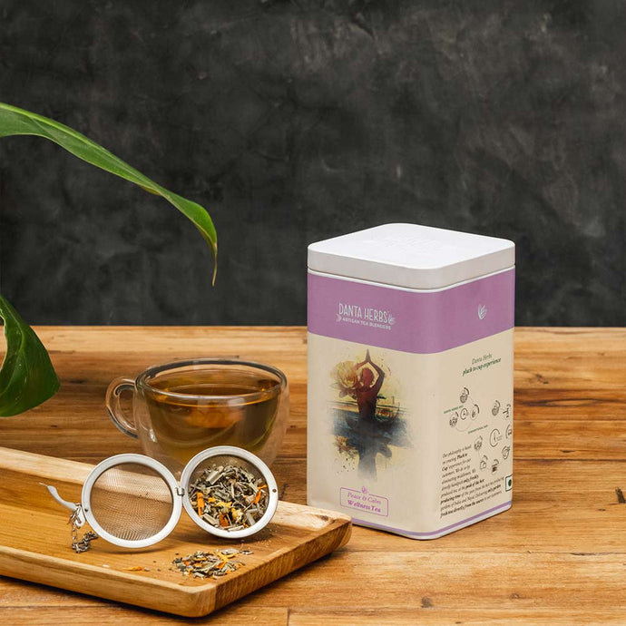 Peace & Calm Wellness Tea - Tin Caddy