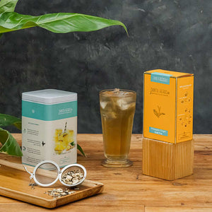 Pineapple Ginger Iced Tea -100 G Tin Caddy