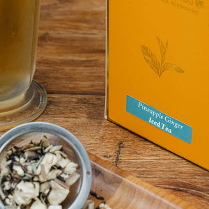 Pineapple Ginger Iced Tea - Danta Herbs, Iced Tea - tea