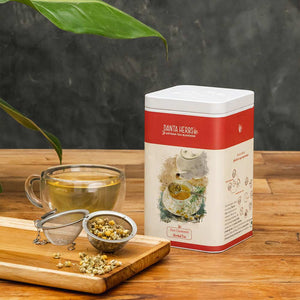 Pure Chamomile Herbal Tea - 100 G Tin Caddy