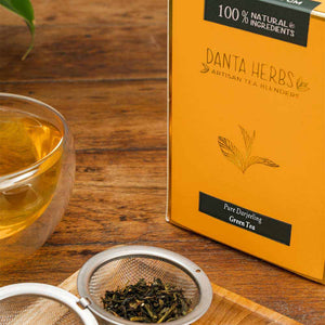 Pure Darjeeling Green Tea - Loose Tea