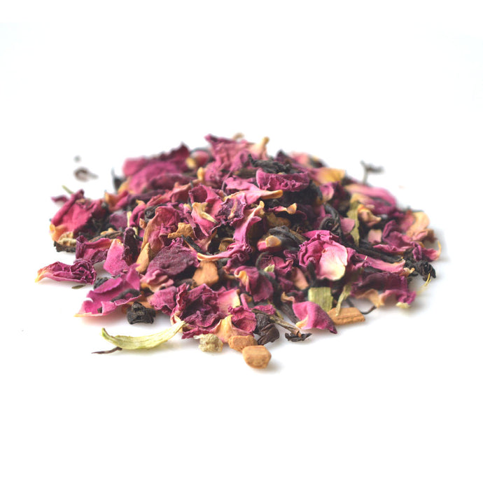 Rose Cinnamon Black Tea - Loose Tea