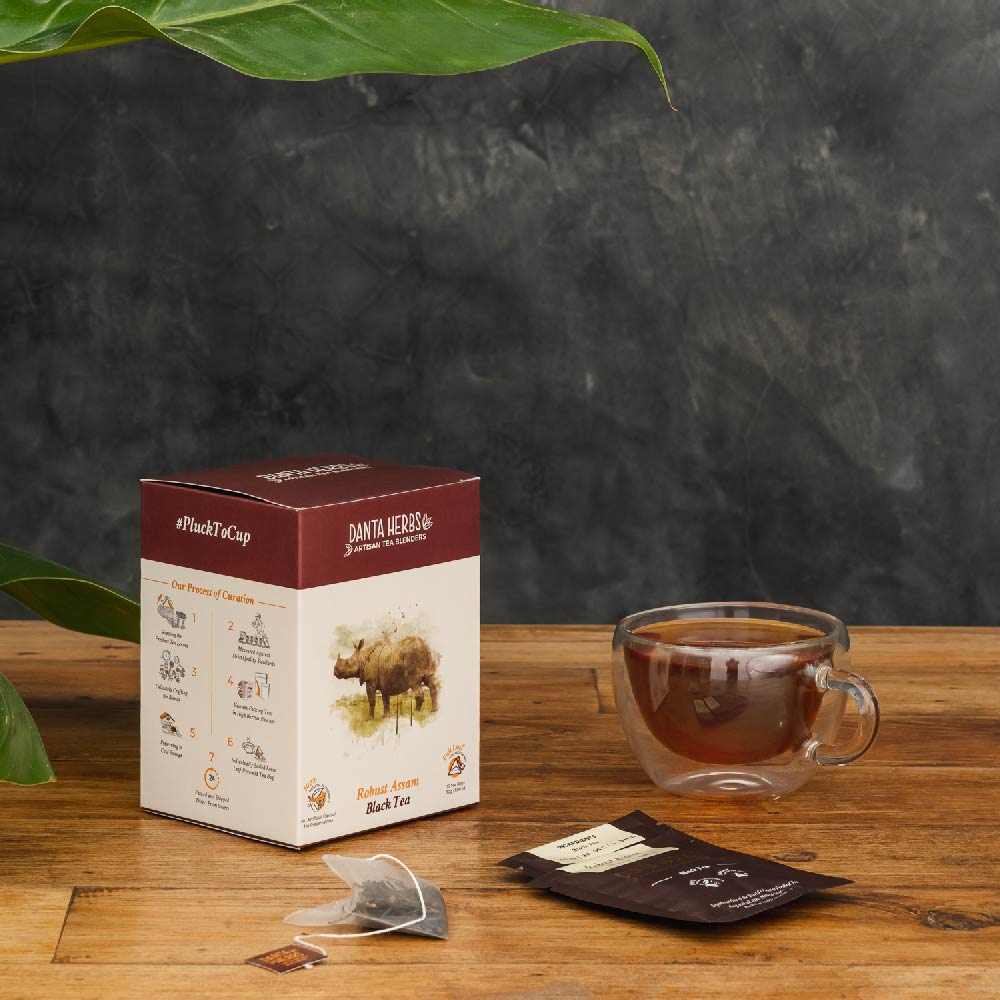 Robust Assam Black Tea - Pyramid Teabag