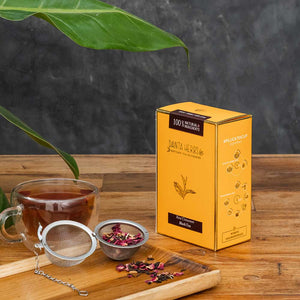 Buy Rose Cinnamon Black Tea - Loose Tea