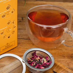 Rose Cinnamon Black Tea - Danta Herbs, Black Tea - teav