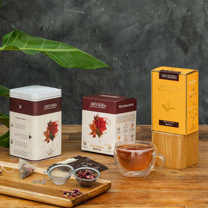 Danta Herbs -Rose Cinnamon Black Tea - Danta Herbs, Black Tea - tea