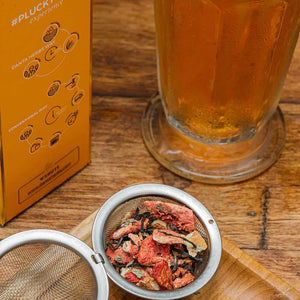 Strawberry Mint Iced Tea - Danta Herbs, Iced Tea - tea