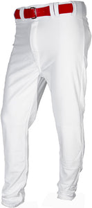 White Relaxed Baseball Pants