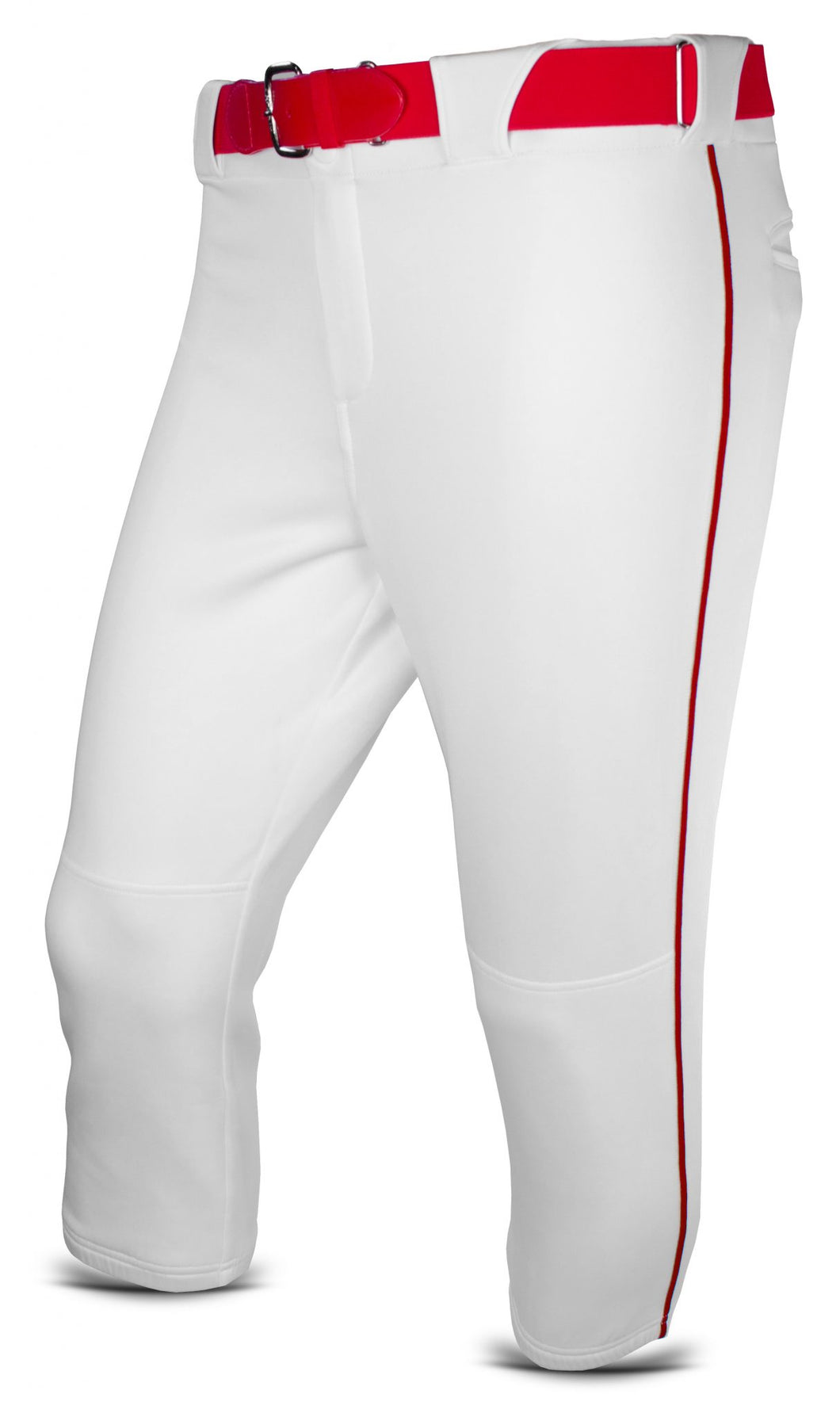 White Baseball Pant w/ Piping