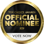 Top Choice Award - Official Nominee - Vote Now!