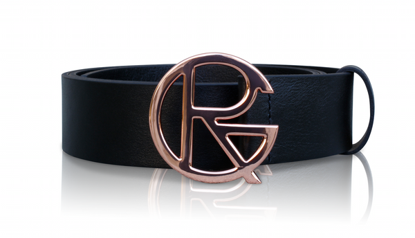 RG ROSEGOLD BELT - BLACK
