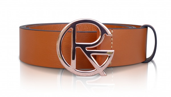 RG ROSEGOLD BELT - RAW SIENNA