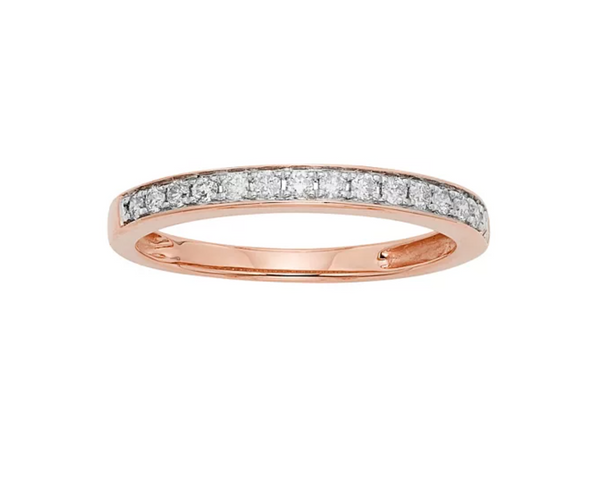1/4 Carat T.W. IGL Certified Diamond 14k Gold Wedding Ring