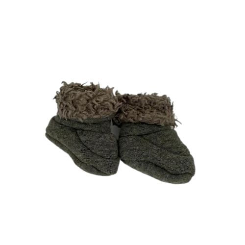 Baby Booties - Forest Green