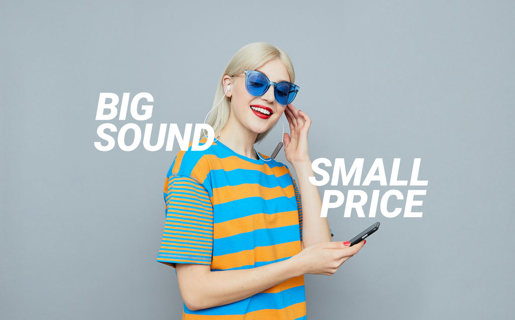 Big Sound Small Price Jam Audio