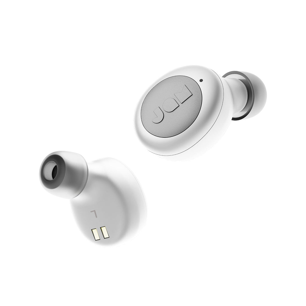 Jam Audio Live Loud True Wireless Earphones White