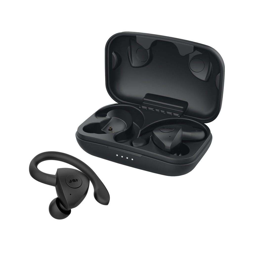 Jam Audio TWS Sport Truly Wireless Earbuds Black with case