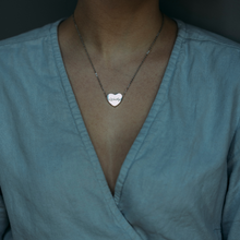 Load image into Gallery viewer, I am Love. I am  a Warrior Bar Necklace For Women Worthy Wands