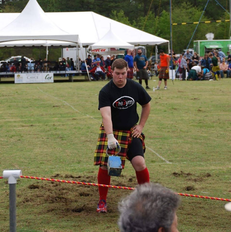 Trey Gibson - Highland Games - Clarkesville, GA