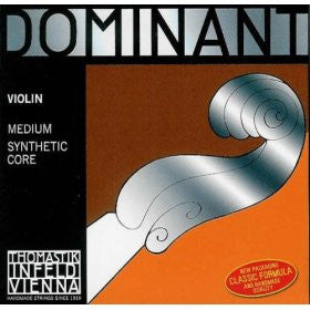 Thomastik-Infeld Dominant violin string sets, fractional sizes