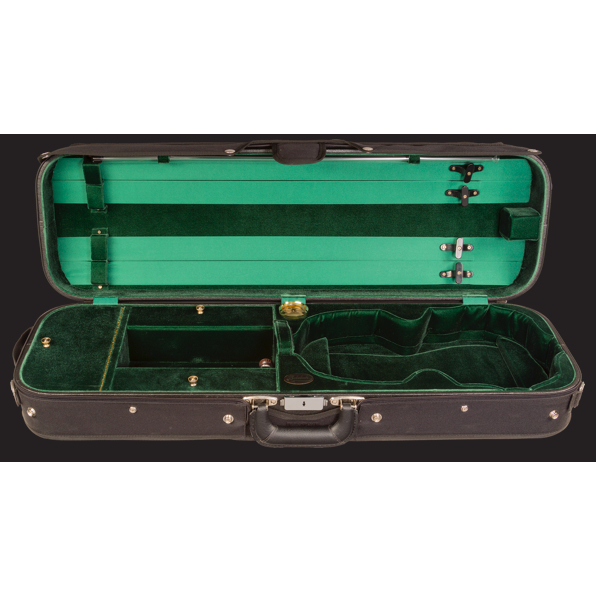 Bobelock Hill Style Professional Oblong Violin case 4/4