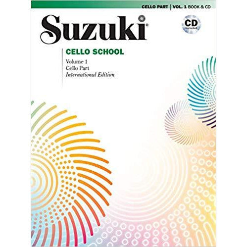 Suzuki Cello School Books - davidsonviolins.com