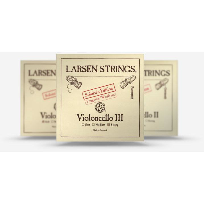 Larsen Standard and Soloist cello strings - davidsonviolins.com