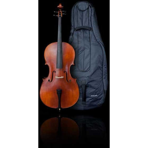 Core Academy 35 cello outfit, fully carved