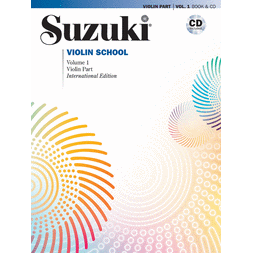 Suzuki Violin School Books