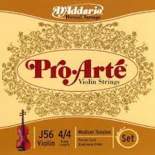D'Addario Pro'Arte viola string set, long scale (16-16.5 inches)