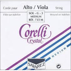 Corelli Crystal viola string set, full size