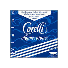 Corelli Alliance Vivace violin string set, 4/4