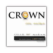 Crown cello string set, 4/4 - davidsonviolins.com