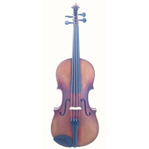 Antique Czech workshop violin, circa 1940 - 3/4 size - davidsonviolins.com