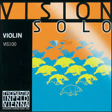 Thomastik Infeld Vision Solo violin string set, 4/4