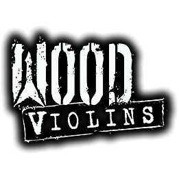Wood Violins Viper string set, 4-string fretted Viper electric violin